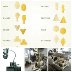 High Speed Food Engineering Projects 3D Snack Pellet Production Line